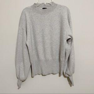 Saks Fifth Avenue 100% Cashmere Big Sleeve Sweater